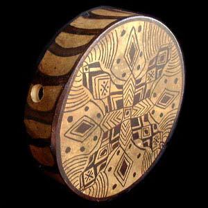 Bendir ou tambour sur cadre à timbre