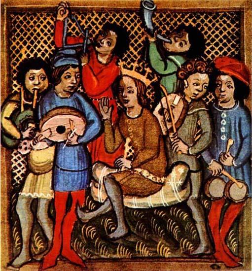Les instruments du moyen-âge